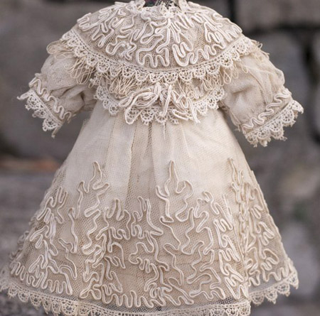 Antique Tulle lace dress