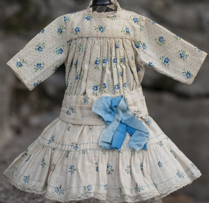 Original Flowered Cotton dress
