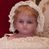 MONTANARI POURED English WAX DOLL