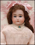 Antique KESTNER shoulder head doll.
