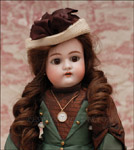 German antique doll by Handwerck