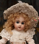 Small French Bebe Jumeau Doll.