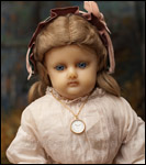 German Wax Antique Doll