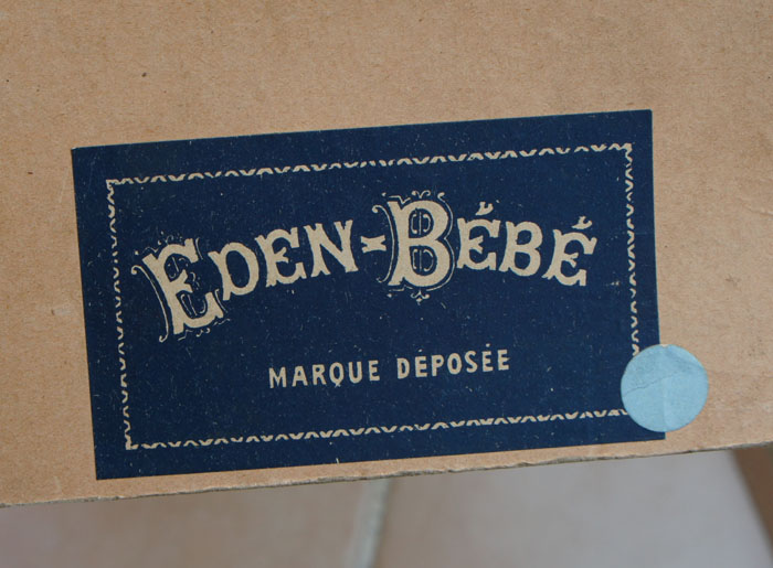 Original Eden bebe Doll Box