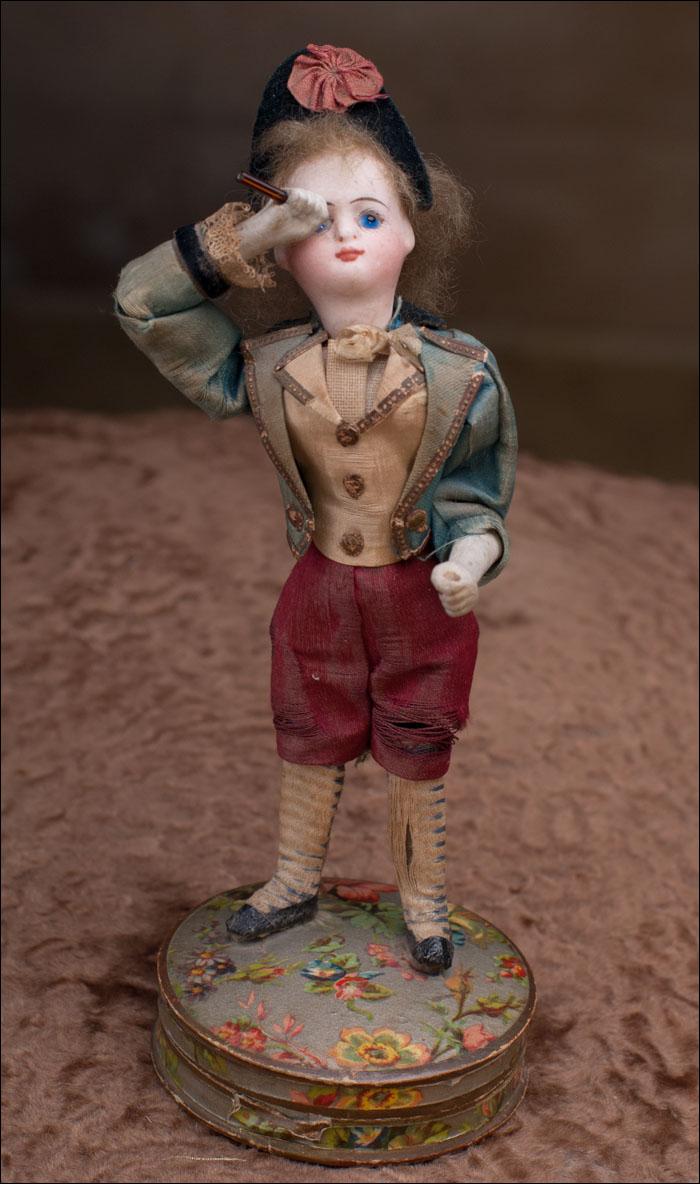 Механическая куколка Mignonette ЩЕГОЛЬ, 18 см.