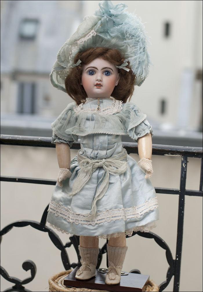 Кукла  Jumeau - оригинальная одежда и тд. Франция, 1900.
