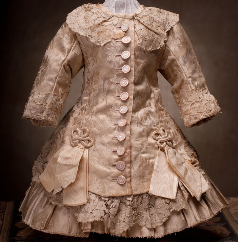 Antique silk dress