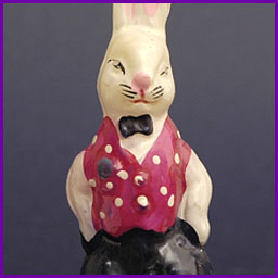 Antique Christmas ornament RABBIT