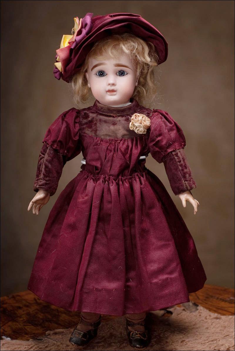 Кукла STEINER, модель А, 1889 год,  35 см