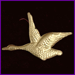 Antique Christmas ornament GOOSE