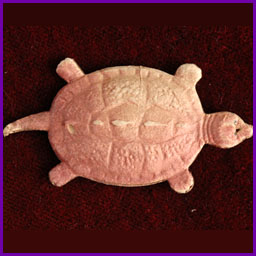 Antique Christmas ornament TURTLE