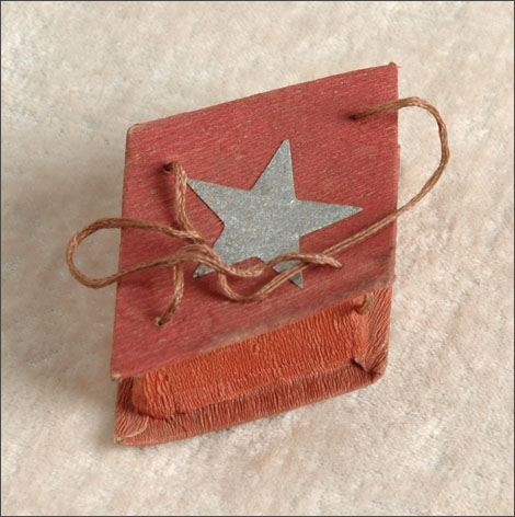 Antique Christmas Candy Container with Star