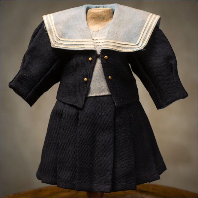 Original Sailor Costume for doll 18-19inch