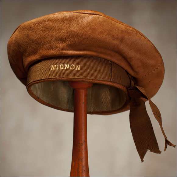 Leather Sailor Hat