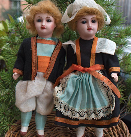 Two French Dolls