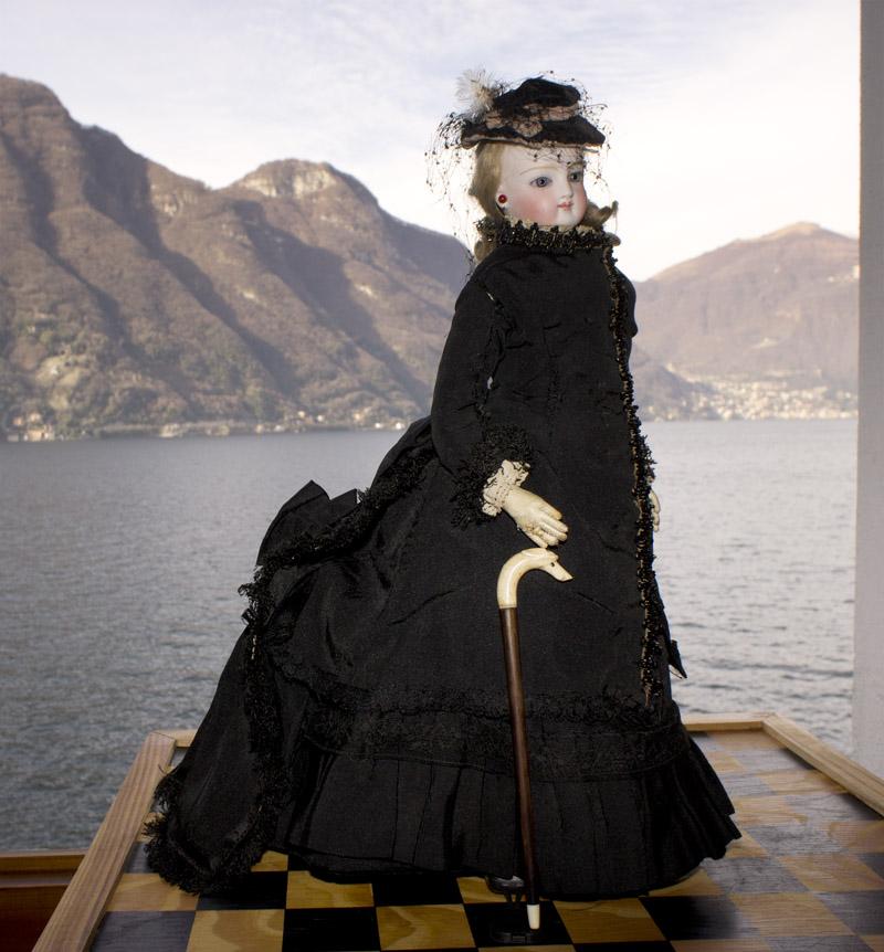 Модная кукла Jumeau 35 см, все оригинальное!