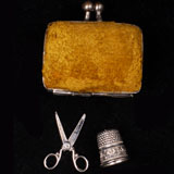 Antique  French Necessaire