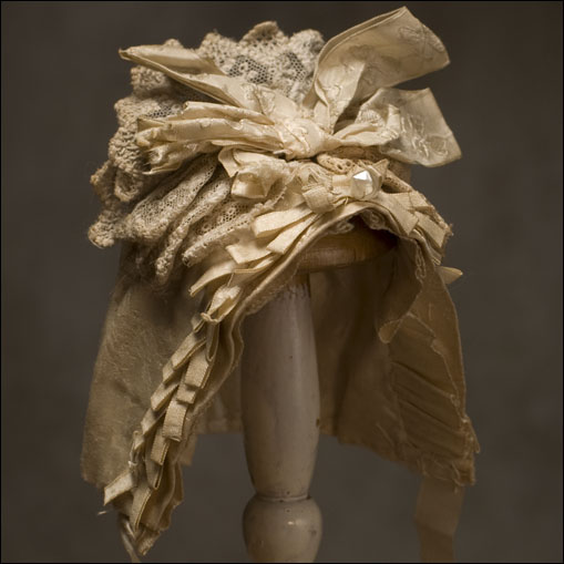 Antique Ivory Silk Hat