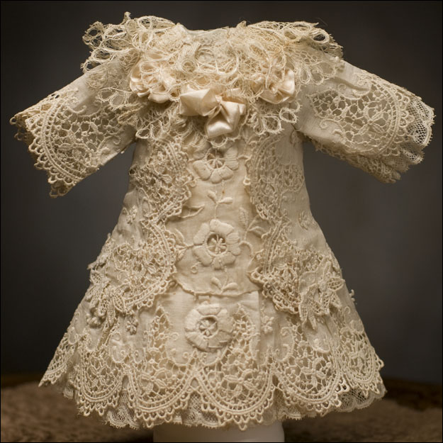 Ivory French Lace Dress
