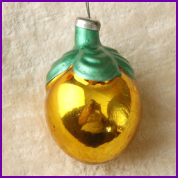 Antique Christmas ornament FRUIT