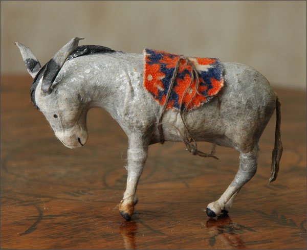 Antique Christmas ornament DONKEY