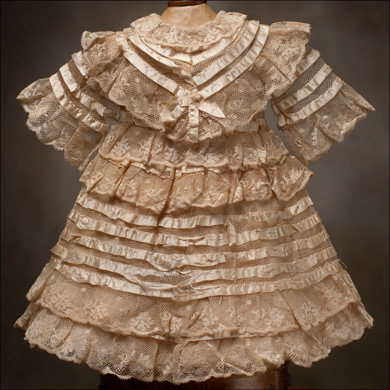 Antique Lace Dress - Clothing