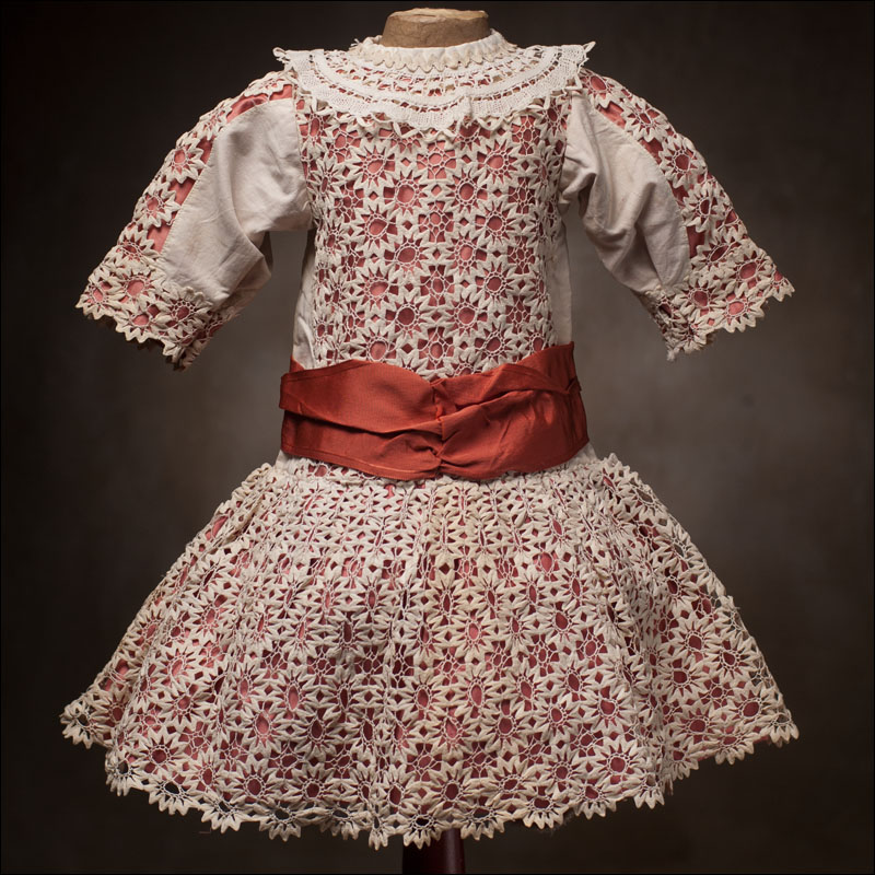 Antique Cotton Lace Dress