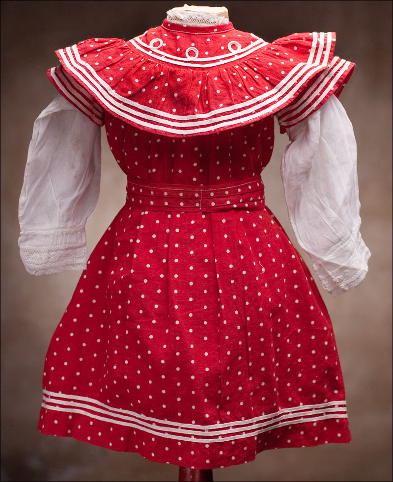 Original Red Dotted Dress