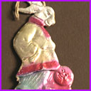 Vintage Christmas ornament RABBIT