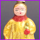 Antique Christmas ornament GIRL WITH DOLL