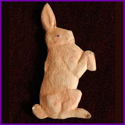 Antique Christmas ornament HARE