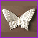 Antique Dresden Christmas ornament BUTTERFLY
