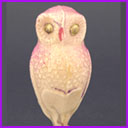 Antique Christmas ornament OWL