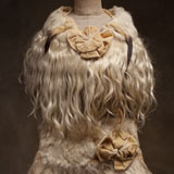 Antique French Fur Collar & Muff for doll