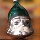 Antique Christmas ornament KNIGHT