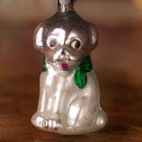 Antique Christmas ornament PUPPY DOG