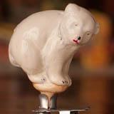 Antique CHRISTMAS ornament POLAR BEAR