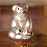 Antique miniature Christmas ornament BEAR