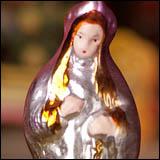 Antique Christmas ornament PRINCESS