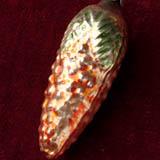 Antique Christmas ornament CONE