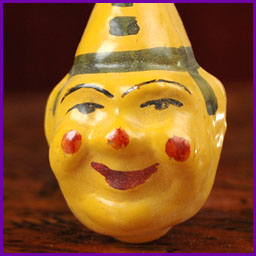 Antique Christmas ornament CLOWN