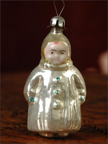 Antique Christmas ornament BOY