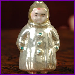 Antique Christmas ornament BOY