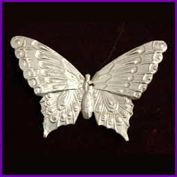 Antique Christmas ornament BUTTERFLY