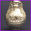 Vintage Christmas glass ornament AMPHORA