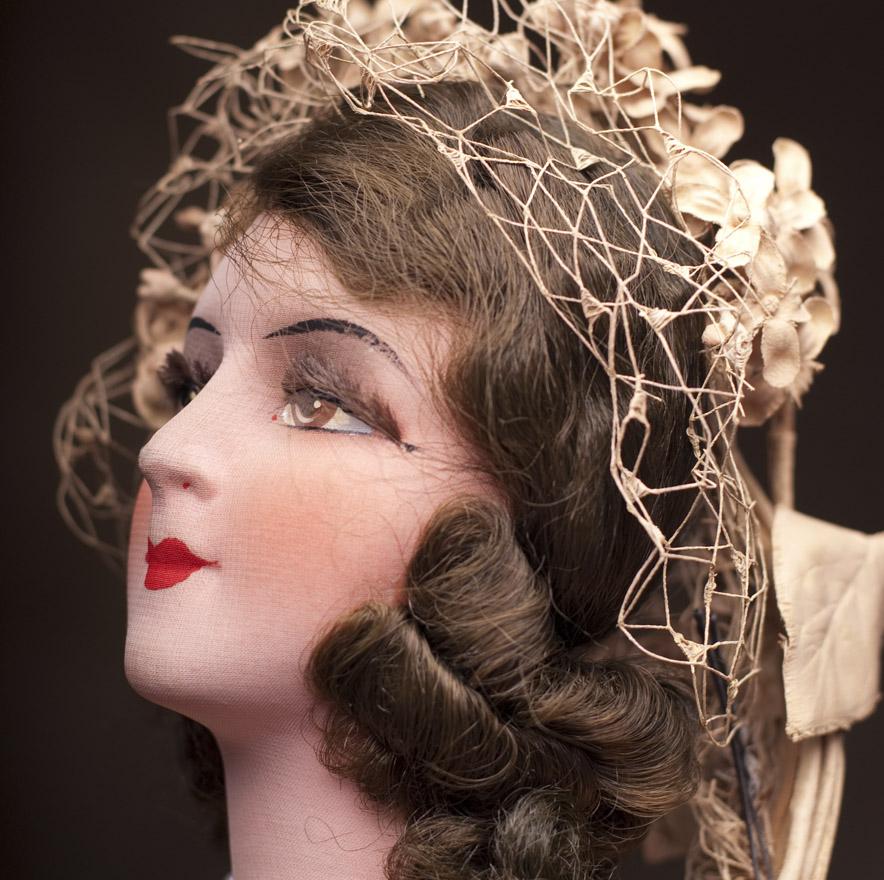 Будуарная Салонная кукла 1920е годы