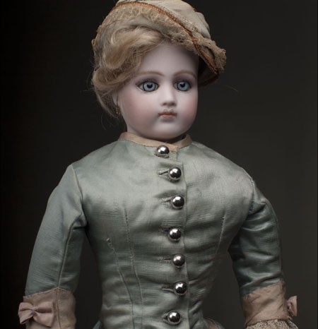 Early Jumeau Portrait Fashion Doll