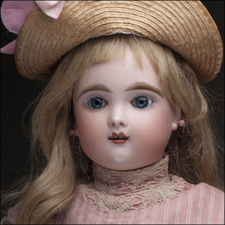 "21"" Extraordinary All Original Antique French Eden Bebe Doll"