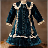 Antique French Jumeau bebe Dress