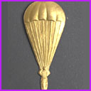 Old Dresden Christmas ornament PARACHUTE